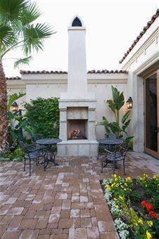 small patio great pavers