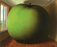 René Magritte - The Listening Room (La chambre d'écoute), 1952 #arte