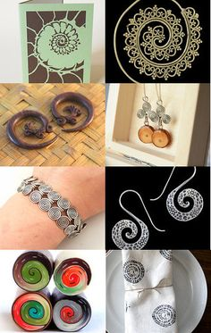 Spiralis by Lastenia Solis on Etsy--Pinned with TreasuryPin.com Washer Necklace, Etsy, Jewelry, Jewlery, Jewels, Jewerly, Jewelery, Accessories