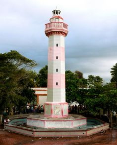 Isla de Cubagua Lighthouses  Pretty in Pink