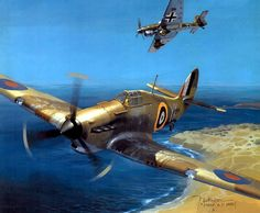 1941 Hawker Hurricane vs Stuka over Africa