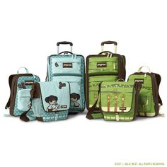 The JanSport Artist Series was a collection I launched while with the company, collaborating with talented artists such as Julie West (seen here). Created Fall 2008. #jansport #artistseries #juliewest