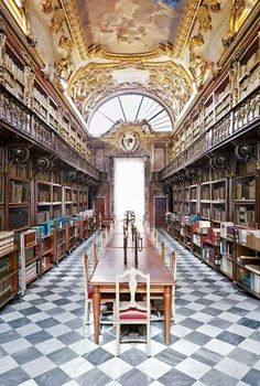 Beautiful library in Florence