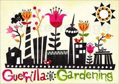guerilla gardening logo - Google-Suche
