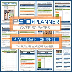 p90 workout planner