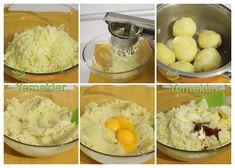 Patatess kroket nasıl yapılır
