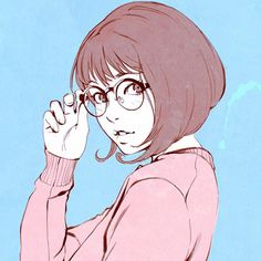 Girl, Illustration, Drawing | Art by: Ilya Kuvshinov