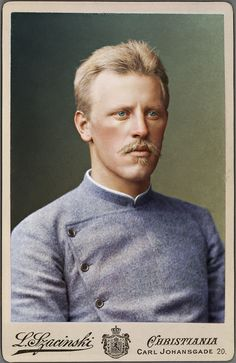 Norwegian polar Explorer Fridtjof Nansen