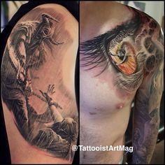 "@tattooistartmag's photo: ""  Tattoo of the day  Artist: Polish Dan  Location: York, UK   Artist's IG: ?"""