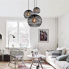 Max 60W Lampe suspendue , Rustique Autres Fonctionnalité for Designers…