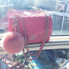 Chanel is my fashion drug — ♥Princesse Chanel♥ Fashion Drug, Fashion Bags, Chanel Handbags, Purses And Handbags, Leather Handbags, Sac Moschino, Cute Purses, Backpack Purse, Cute Bags
