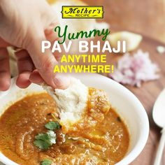 Remember when Maa used to surprise you with her awesome homemade Pav Bhaji? Get the same taste back in your life with Mother's Recipe Ready-to-Cook mix!