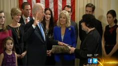 In a semi-private ceremony Jan. 20 at his residence at Washington's Naval Observatory, Vice President Joseph R. Biden Jr., took the Oath of Office for a second term administered by Supreme Court Justice Sonia M. Sotomayor.