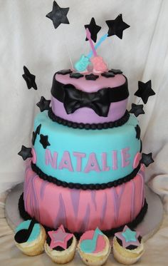 Rock star cake idea