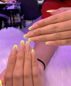 """Learn even more details on """"acrylic nail art designs gallery"""". Have a look at our website. French Acrylic Nails, Acrylic Nails Coffin Short, Simple Acrylic Nails, Square Acrylic Nails, Summer Acrylic Nails, Best Acrylic Nails, Acrylic Nail Designs, Coffin Nails, Neon Nail Designs"""