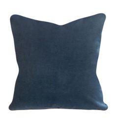 Blue Velvet Peacock Decorative Pillow Cover by PillowTimeGirls Toss Pillows, Accent Pillows, Decorative Pillow Covers, Throw Pillow Covers, Blue Velvet Fabric, Peacock Blue, Velvet Pillows, Lumbar Pillow, Interior Design