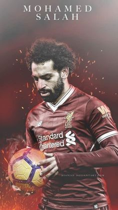 Mohamed Salah w Liverpool FC Liverpool Champions, Liverpool Players, Liverpool Football Club, Liverpool Live, Mohamed Salah Egypt, Mohamed Salah Liverpool, Liverpool Fc Wallpaper, Liverpool Wallpapers, Football Is Life