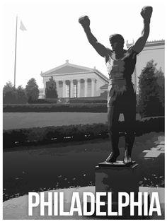 Philadelphia Landmark Poster