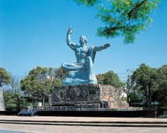 Nagasaki Peace Park is a park located in Nagasaki, Japan, commemorating the atomic bombing of the city on August 9, 1945 during World War II.