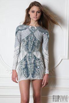 """Zuhair Murad """"Microcosmos"""", F/W 2014-2015 - Ready-to-Wear - http://www.flip-zone.com/fashion/ready-to-wear/fashion-houses-42/zuhair-murad-4638"""