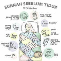 Sunnah sebelum tidu r Islamic Quotes Wallpaper, Islamic Love Quotes, Muslim Quotes, Islamic Inspirational Quotes, Hijrah Islam, Doa Islam, Reminder Quotes, Self Reminder, Moslem
