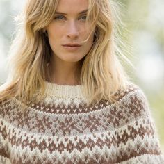 16 Precious autumn collection | Camilla Pihl Strikk Sweater Knitting Patterns, Knitting Stitches, Beaded Collar, Knit Vest, Camilla, Knitting Projects, Crochet Top, Free Pattern, Wool