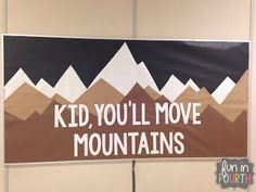 47 Awesome Bulletin Boards to Spice-Up Your Classroom – Bored Teachers Whether you're one of those super teachers who like to change up their bulletin boards every month or you're still looking for ideas to decorate your classroom. Back To School Bulletin Boards, Classroom Bulletin Boards, Classroom Door, Classroom Design, School Classroom, Classroom Themes, Classroom Organization, Camping Bulletin Boards, Bulletin Board Ideas For Teachers