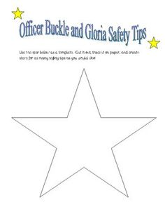 Printables Officer Buckle And Gloria Worksheets officer buckle and gloria on pinterest safety star