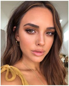 Natural Makeup For Brown Eyes, Makeup Looks For Brown Eyes, Natural Makeup Looks, Make Up Brown Eyes, Natural Makeup Brands, Natural Makeup For Blondes, Natural Summer Makeup, Natural Lips, Beauty Make-up