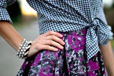 prints. checks & floral~