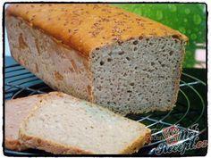 Žitný chleba z kvásku   NejRecept.cz Banana Bread, Food And Drink, Pizza, Baking, Basket, Straws, Bakken, Backen, Sweets