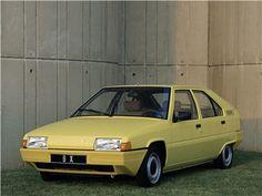 Citroen BX, 1982-86 - Yellow Car