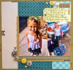 TERESA COLLINS DESIGN TEAM: Reason 4,376 Now and Then Layout by Dedra Long
