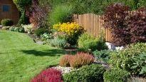Building a Summer Garden with Kids Outdoor Flowers, Outdoor Plants, Outdoor Gardens, Privacy Fence Landscaping, Home Landscaping, Hillside Garden, Garden Landscape Design, Garden Cottage, Small Gardens