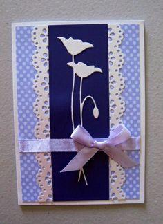 Memory Box - Prim Poppy. (My TLC Handmade Cards TD )
