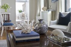 traditional living room by Tiffany Eastman Interiors, LLC