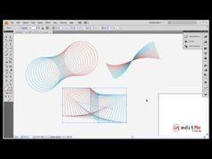 Adobe Illustrator Blend Tool - YouTube