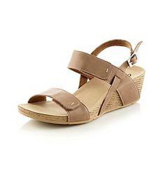 "Product: Clarks® ""Alto Disco"" Platform Wedge Sandals"