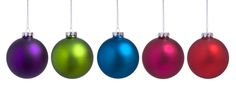 Gorgeous Jeweltone Ornaments from TheChristmasOrnamentSite.com