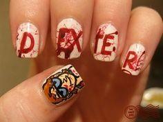 Dexter Nails!!! #dexter #nails #nerdynails
