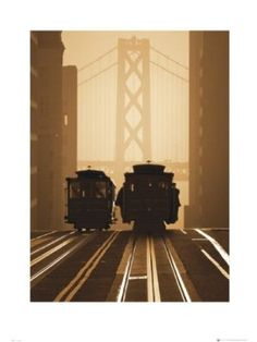 San Francisco-Art Print, 60 x 80 Cm)  (49x69)