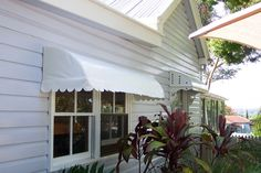 Workers cottage awnings