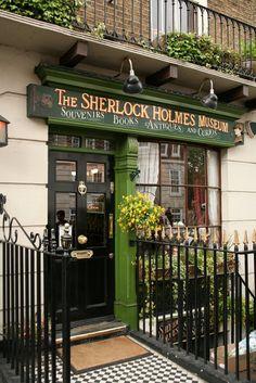 Visit the Sherlock Holmes Museum., Baker Street, London. . . @Tori Sdao Pine   :D