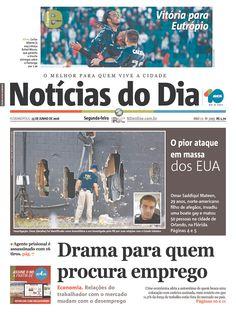 Notícias do Dia Florianópolis | Today's Front Pages | Newseum