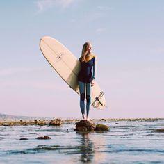 I love her wet suit! <3
