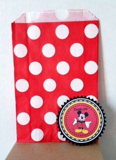 Mickey Mouse Party Labels Mickey MouseParty by Justabitofpaper, $10.00