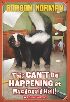 This Can't Be Happening at MacDonald Hall! (Bruno and Boots) by Gordon Korman http://www.amazon.com/dp/0545289246/ref=cm_sw_r_pi_dp_hAkZwb19EJYCW