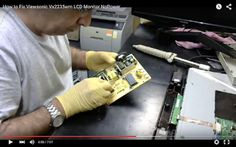 Worldwide Electronic-Hardware Solutions: Viewsonic Vx2235wm LCD Monitor NoPower