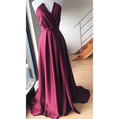 In process picture Fashion Brand, Evening Gowns, Ball Gowns, Peach, Satin, Wine, Luxury, Formal Dresses, Fabric