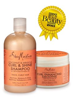 SheaMoisture's Coconut & Hibiscus Curl Enhancing Smoothie received Essence Magazine's Readers' Choice Awards for Best Curl Definer: Mass and the Curl & Shine Shampoo, for Best Shampoo for Natural Hair. Natural Hair Shampoo, Shampoo For Curly Hair, Natural Haircare, Curl Enhancing Smoothie, Curly Hair Styles, Natural Hair Styles, Curls For The Girls, Best Shampoos, Hair Hacks